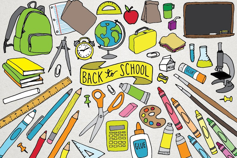 School Supply Lists are up!