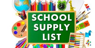 Supply List 2020 – 2021